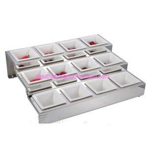 Bộ tô vuông đựng thức ăn buffet - TPZ03110