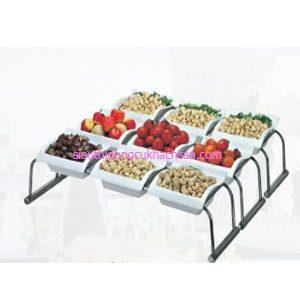 Bộ tô vuông trưng bày buffet - TPZ03111