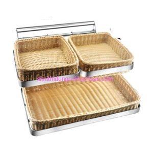 Khay đựng bánh mì buffet 3ngăn - TPZ03115