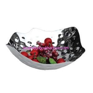 Khay inox đựng trái cây buffet - TPBF80028