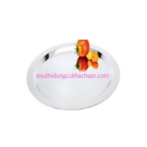 Khay inox trưng bày buffet hình tròn - TP8220