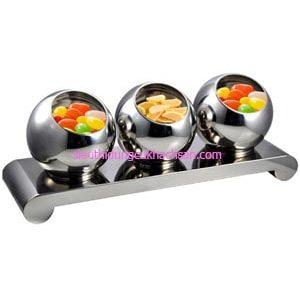 Bộ tô trưng bày buffet inox 30cm - TPZ03106