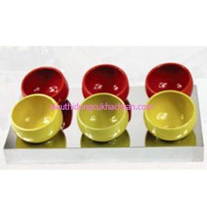 Bộ tô trưng bày buffet inox 20cm - TPZ03104