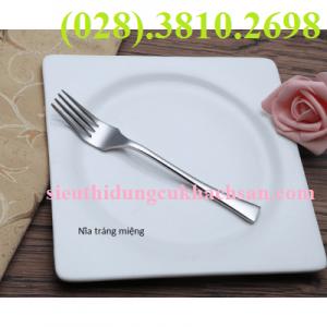 Nĩa tráng miệng inox cao cấp- TPC68006