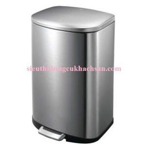 Thùng rác inox cao cấp hình vuông 20L TP69033