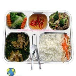 Khay cơm phần inox TPKP0302