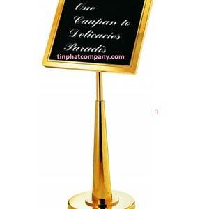 Bảng menu nhà hàng khách sạn cao cấp