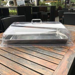 Nắp nhựa chữ nhật đậy thực phẩm cao cấp Tín Phát
