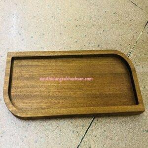 Khay trang trí món ăn bằng gỗ