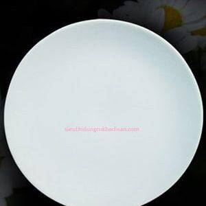 Dĩa tròn ảo 26cm Daisy trắng Minh Long